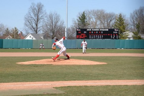 Sidearmer Hackimer has been lights out for the Johnnies
