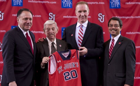 The prodigal son returns home to coach St. John's basketball