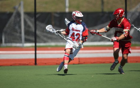 Lacrosse struggles to stop high powered Nova' attack