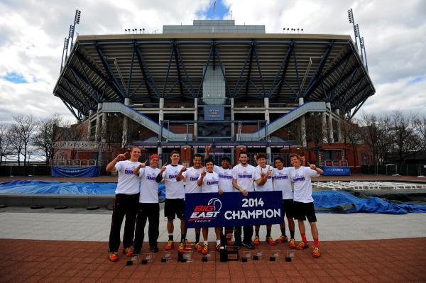 Men's tennis wins second straight Big East Tourney title