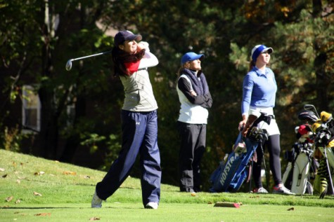 Men's golf ends season with third place finish