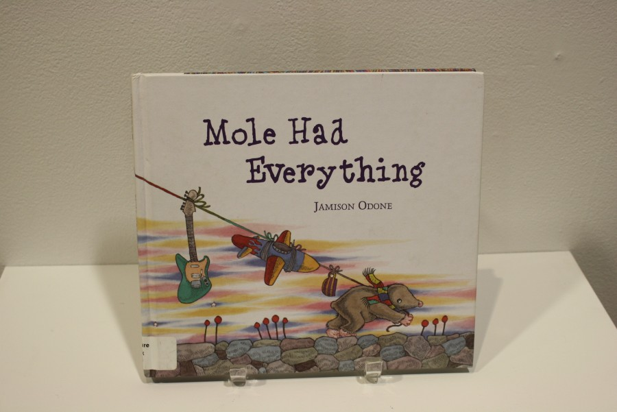 Odone's books included in the exhibition are