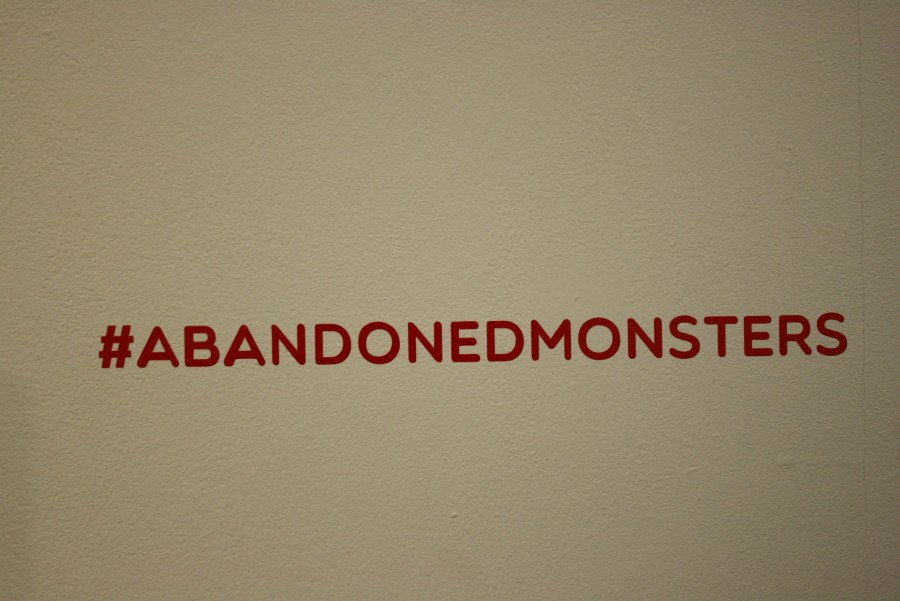 Odone steps away from his pen and ink approach with  #AbandonedMonsters.