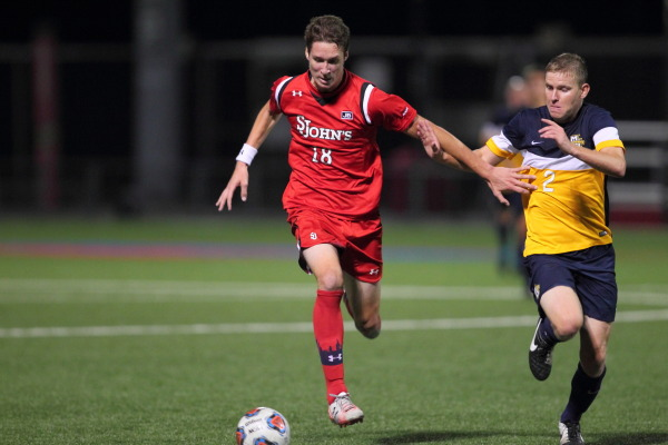 Mike Prosuk continues his impressive first season for the Red Storm (Photo: Athletic Communications)