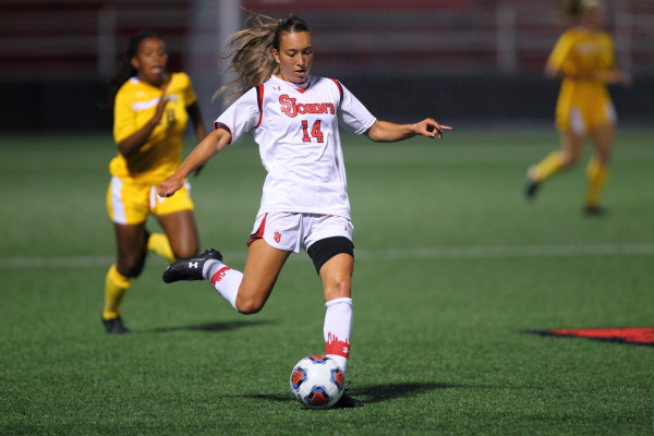 Miranda Haraughty's goal in the 42nd minute was all the Red Storm needed versus Butler.