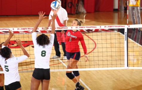Red Storm Spikes DePaul
