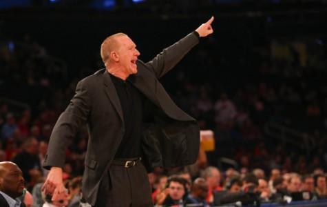 Chris Mullin coached his first game at Madison Square Garden Sunday, a win for St. John's over St. Francis (Brooklyn) (Photo: Anthony Gruppuso, USA Today Sports)