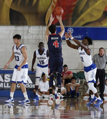 Federico Mussini continued to shine as he was St. John's best player at the Maui Jim Maui Invitational Thanksgiving Week (Photo: Athletic Communications)