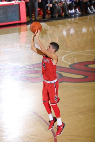 Federico Mussini and St. John's had to grind out an uneasy victory over Niagara  Wednesday night (Photo: St. John's Athletic Communications)