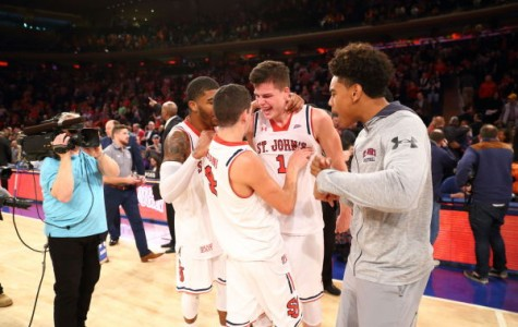 Federico Mussini and Amar Alibegovic starred in St. John's victory over Syracuse (Photo: St. John's Athletic Communications)