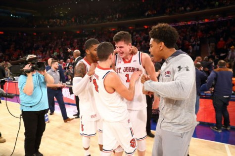 St. John's beats Syracuse at the Garden