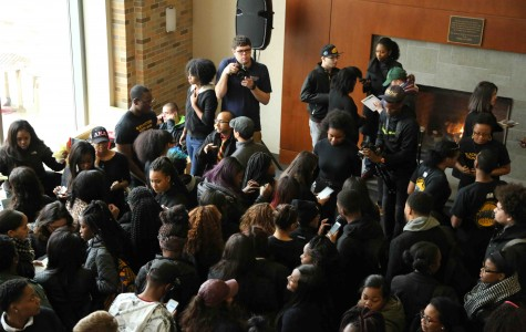 Students of Consciousness held a demonstration Feb. 10 where they signed a petition detailing their demands.