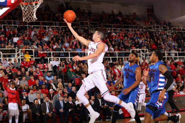 Federico Mussini scored all 17 of his points to lead St. John's to its first victory since December 13 (Photo: St. John's Athletic Communications)