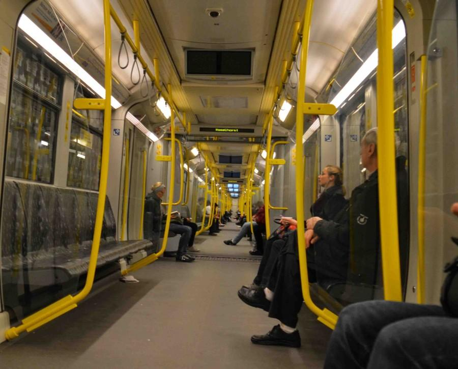 The Berlin transit system serves as one of the blueprints for the futuristic MTA model. The upgraded trains will include charging stations and free WiFi.