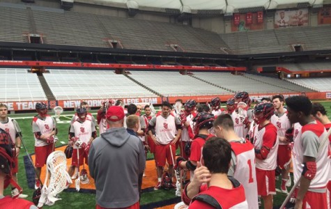 St. John's took a 15-4 shellacking against No. 3 Syracuse at the Carrier Dome on Mar. 12 (Photo: Twitter/@StJohnsLax)