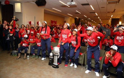 St. John's is pumped to learn its the No. 8 seed during Monday's NCAA Selection Show Watch Party. (Photo: St. John's Athletic Communications)