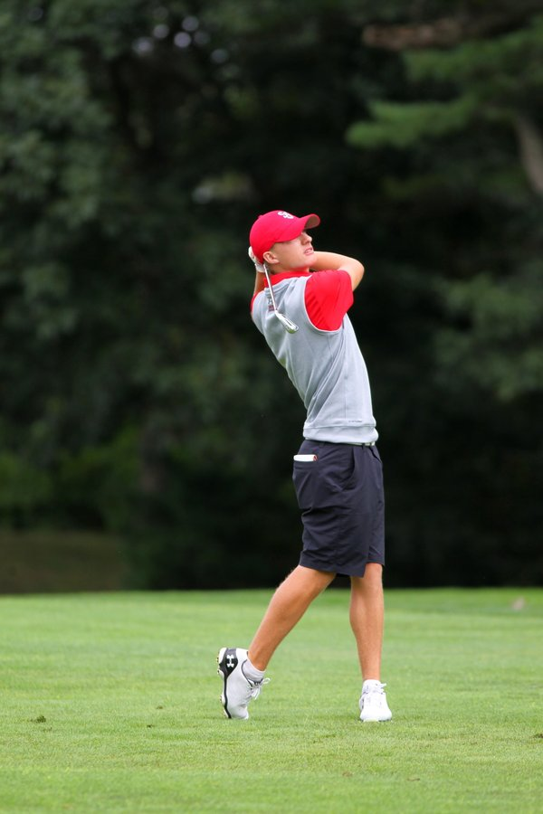 Troy Evans registerd his best-career finish at Loyola Intercollege (Photo: Twitter/@StJohnsMGolf