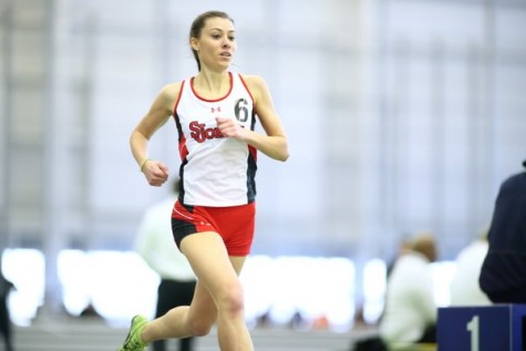 St. John's track concludes indoor season with strong showing in Boston