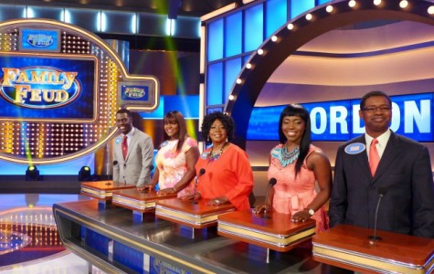 Paul 'Gee' Gordon and his family on Family Feud, airing in August.