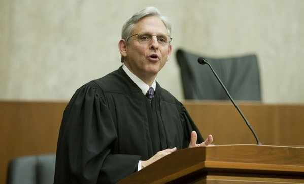 Chief Justice Merrick Garland.