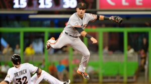 Panik has already won a World Series and been named to an all star team in his short MLB career. (Photo Credit: knbr.com)