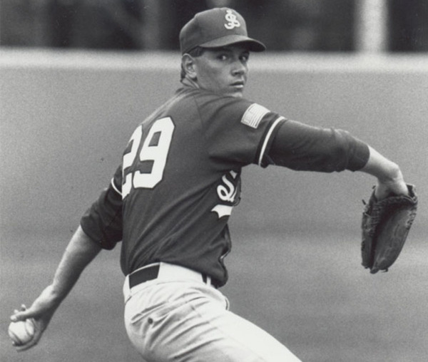 Nitkowski starred at SJU before becoming the ninth overall pick in the 1994 MLB Draft. (Photo Credit: St. John's Athletics)