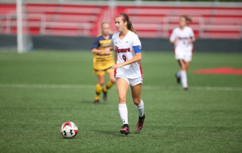 Shea Connors scored the lone goal of the game to push the  Red Storm ahead. (Photo Credit: RedStormSports.com)