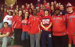No shortage of spirit for SJU Senior