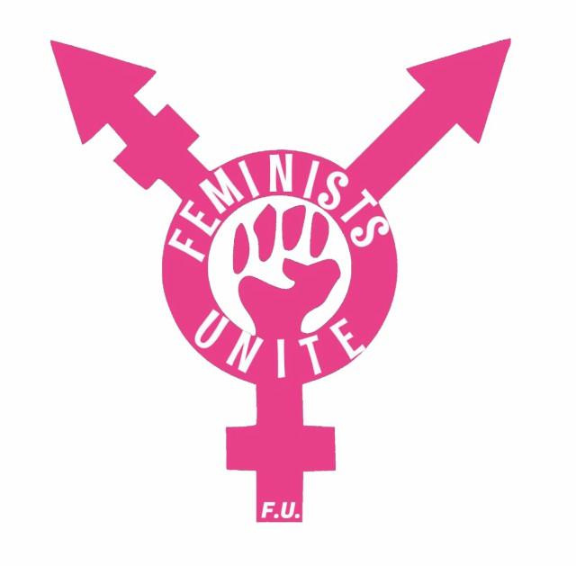 The logo of Feminists Unite.