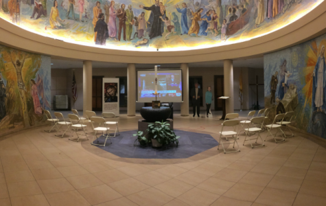 St. Thomas More hosted a watching party for the second Presidential Debate.