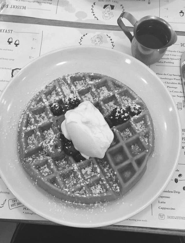Yummy+rose+water+waffle+from+Jack%27s+Wife+Freda+in+SoHo.