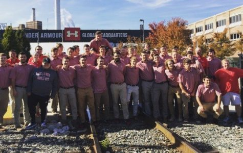 The St. John's lacrosse team traveled to the Naval Academy last week. (Photo: RedStormSports.com)