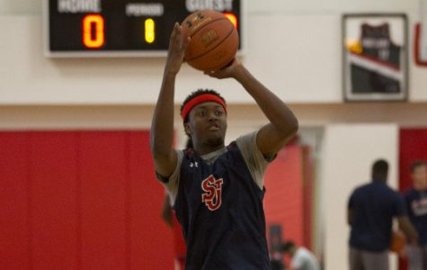 Shamorie Ponds, from Brooklyn, NY, elected to remain close to home when he committed to St. John's. (Photo Credit: Redstormsports.com)