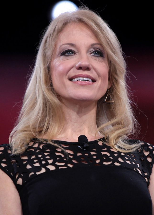 Kellyanne+Conway+has+become+the+first+woman+to+successfully+run+a+U.S.+presidential+campaign.