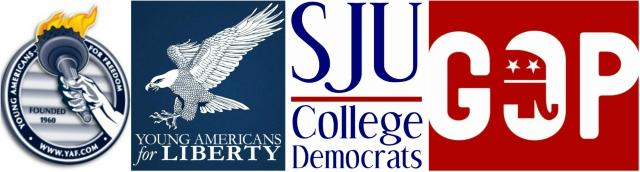 SJU's political groups discuss their positions