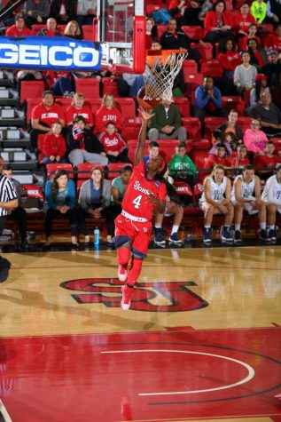 Aaliyah Lewis led St. John's with six steals. (Photo Credit: RedStormSports.com)