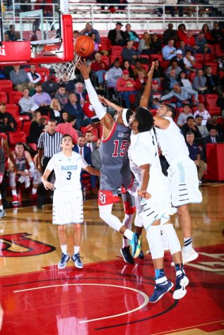 Marcus LoVett looks to make an impact in his first season on the court at St. John's (Photo Credit: RedStormSports.com).