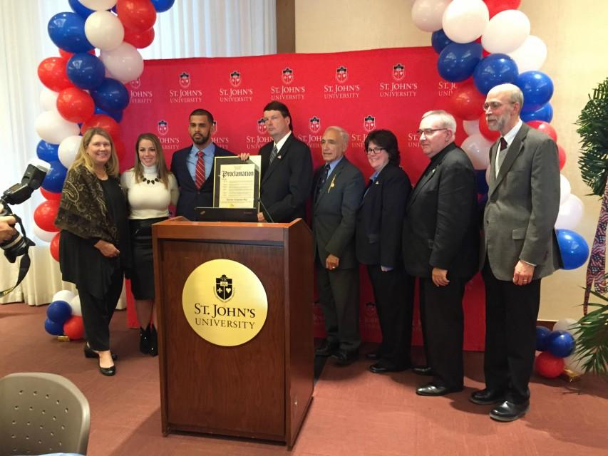 SJU hosts annual Veterans Day celebration