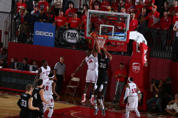 Kassoum Yakwe is slated to have a breakout season on the defensive end for St. John's (Photo Credit: RedStormSports.com).