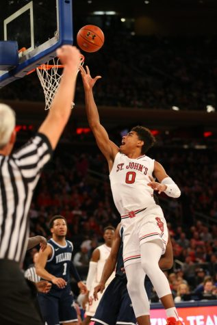 Malik Ellison scored 10 points for the Red Storm. (Photo Credit: RedStormSports.com)