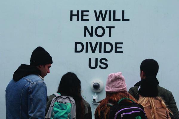"""""""He Will Not Divide Us"""" Exhibit"""