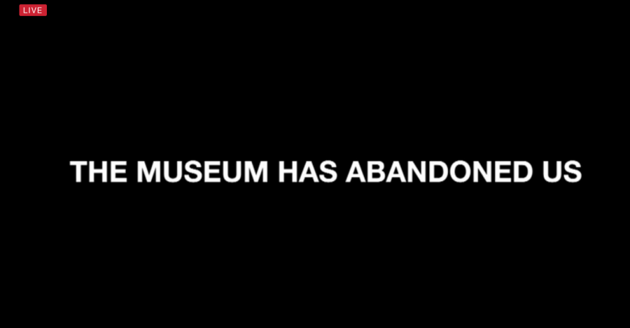The+live+feed+on+hewillnotdivide.us+now+shows+the+caption+%22THE+MUSEUM+HAS+ABANDONED+US%22+following+the+exhibit+being+shut+down.+