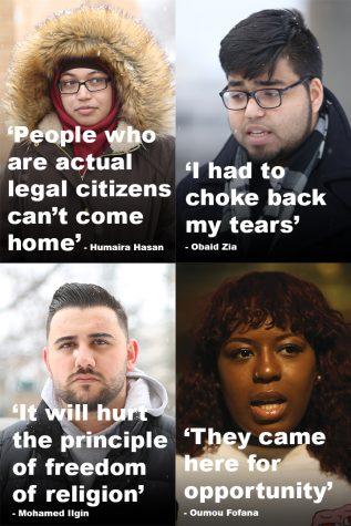 Students talk Trump order