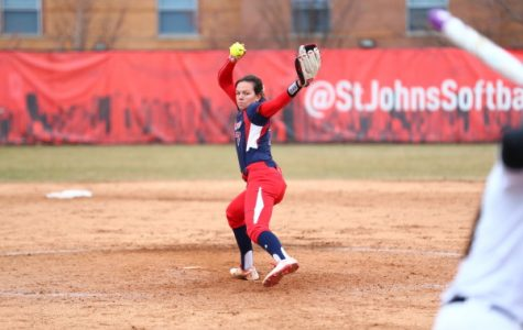 Tori Free tossed a no-hitter this weekend, continuing a dominant return season. (Photo: RedStormSports.com)
