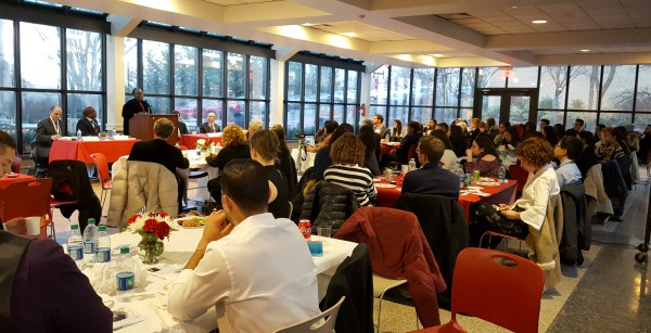The Global Peace and Security Dinner was held at the Marillac Terrace on Monday, March 13.
