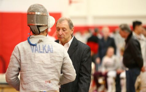 St. John's and head coach Yury Gelman will send eight fencers to the NCAA Championships. (RedStormSports.com)