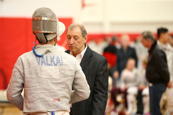 St. Johns and head coach Yury Gelman will send eight fencers to the NCAA Championships. (RedStormSports.com)