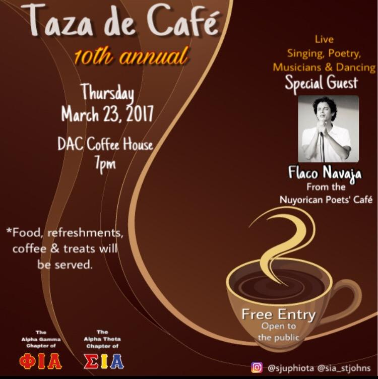 Taza de Café to take place on March 23