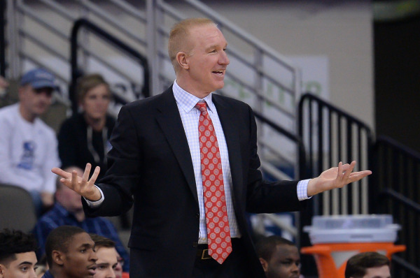 Chris Mullin's team finishes Big East play with a 2-7 mark in conference road games. (Photo RedStormSports.com)