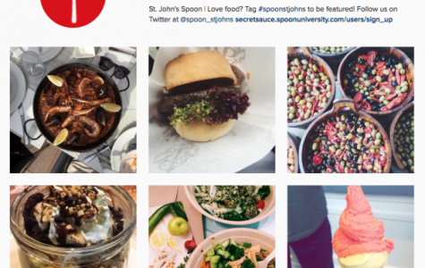 SJU's Spoon University chapter has Instagram and Twitter accounts where they post about food.